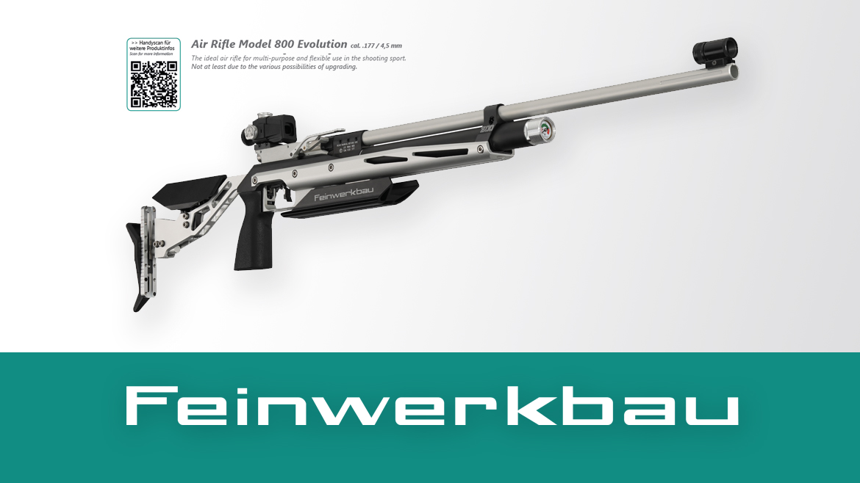 800 Evolution / Evolution Top Air Rifles – Feinwerkbau by Primu